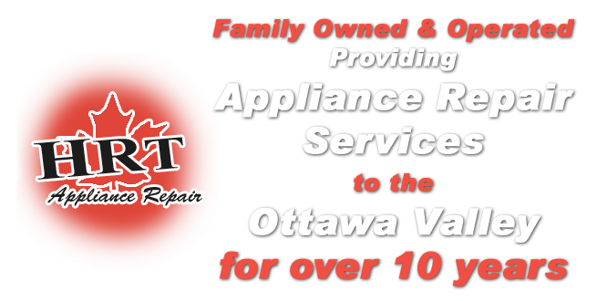 Providing Appliance Repair Services to the Ottawa Valley Since 2005